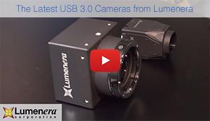 Video of Lumenera's latest USB 3.0 Cameras