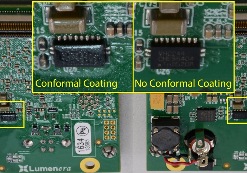 Protecting Aerial Imaging Equipment with Conformal Coating