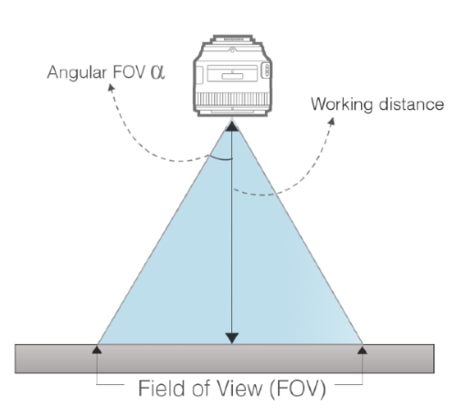Working Distance and Field of View