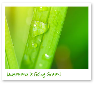 Lumenera going green