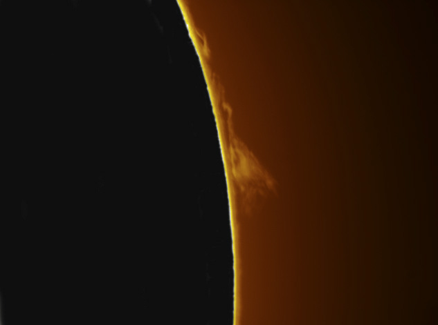 Robert Morlan - Image of sunspot 953 - Lu075