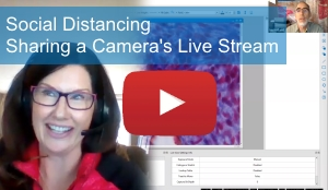 Social Distancing – Sharing a Camera's Live Stream